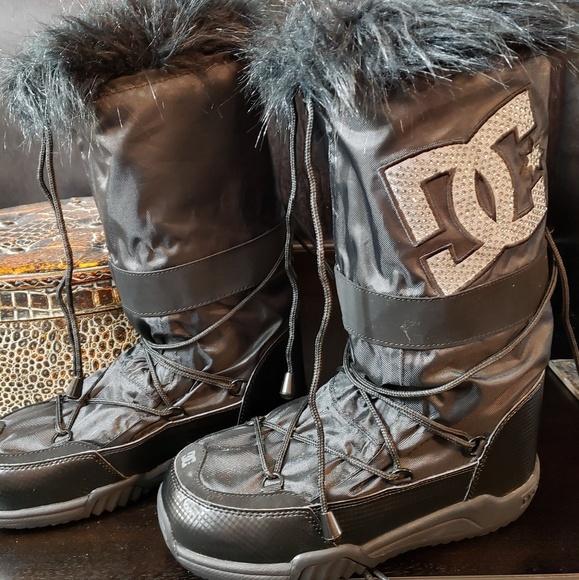 Womens Dc Shoes Chalet 2 Le Snow Boots